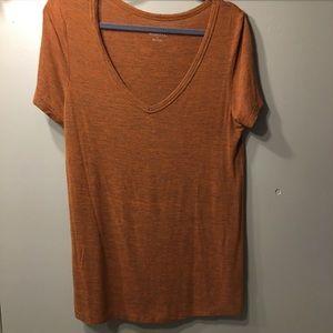Merona Burnt Orange T-shirt